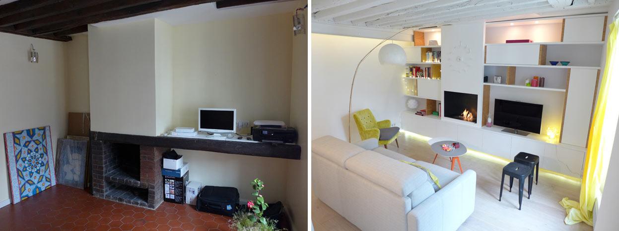 Photos de r alisations d 39 un d corateur d 39 int rieur qui - Decoration interieur appartement 2 pieces ...
