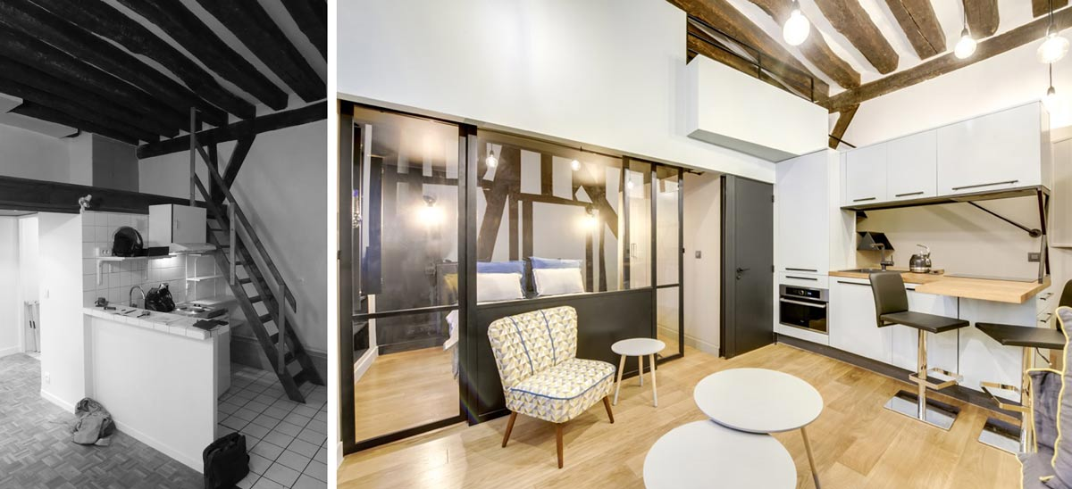 Mezzanine Studio 25m2