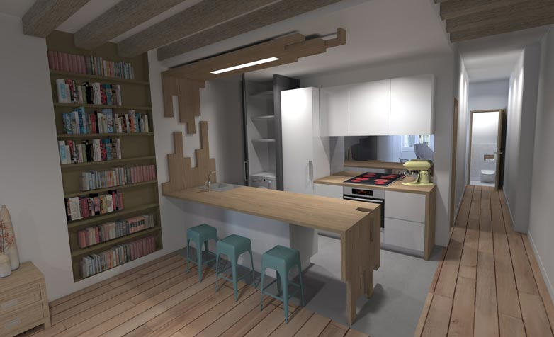 conseil achat sur plan d un appartement neuf en vefa paris. Black Bedroom Furniture Sets. Home Design Ideas