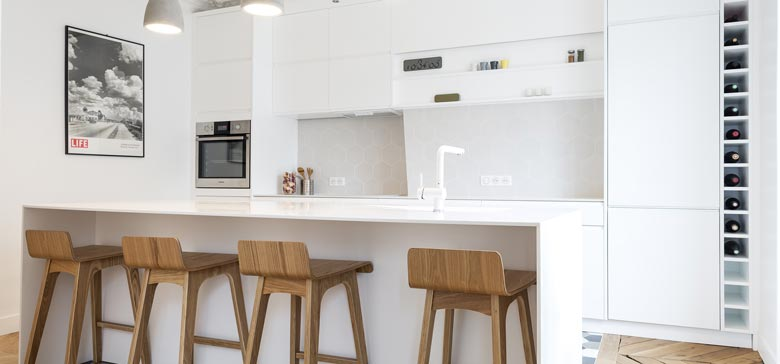 Architecte d int rieur paris travaux de r novation et am nagement int rieur - Cuisine architecte d interieur ...