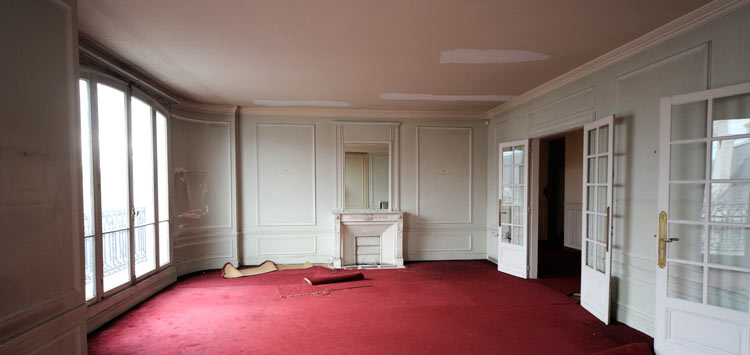 Appartement hausmanien en vente à Paris