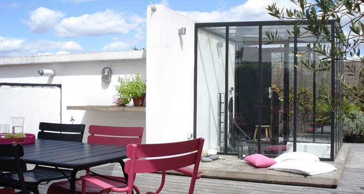 Jardinier paysagiste paris am nagement de votre espace ext rieur - Amenagement terrasse appartement ...