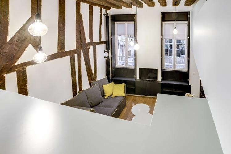 Transformation d un studio parisien en appartement 2 3 pi ces tude de cas - Transformer un studio en 2 pieces ...