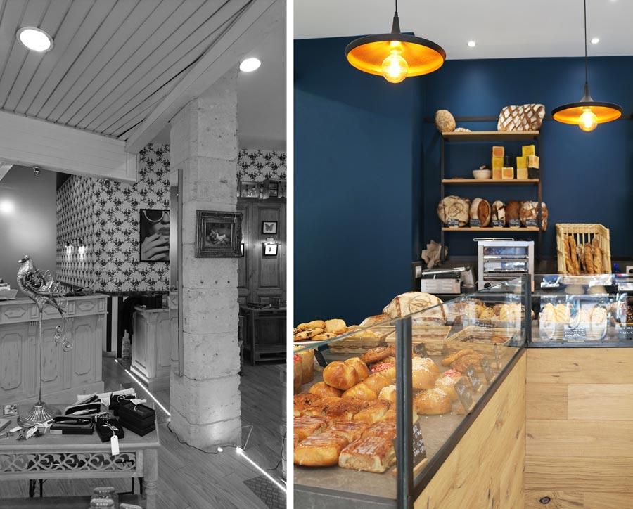 Rénovation d'une boulangerie artisanale par un architecte d'intérieur