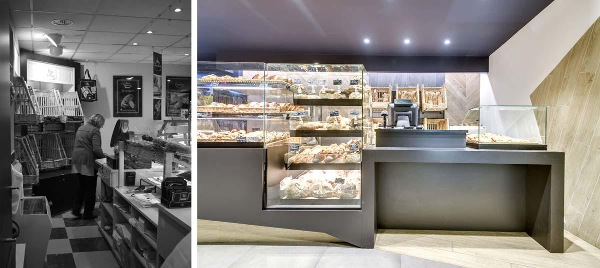 Rénovation d'une boulangerie : un projet d'architecture commerciale