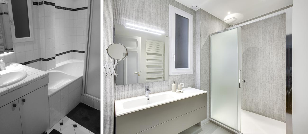 Renovation Appartement Haussmannien 76m Paris