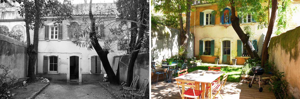 Renovation D Une Maison De Ville A Marseille Par Un Architecte D