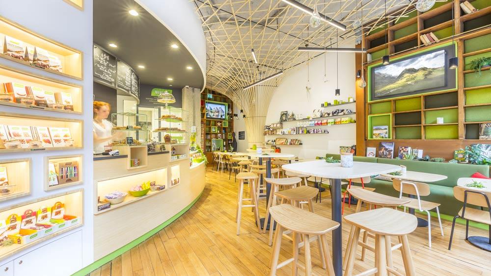Rénovation de la boutique d'un chocolatier à Lyon par un architecte d'intérieur