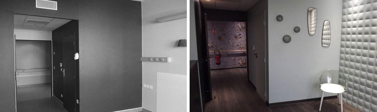 Rénovation d'une maternité par un architecte d'intérieur
