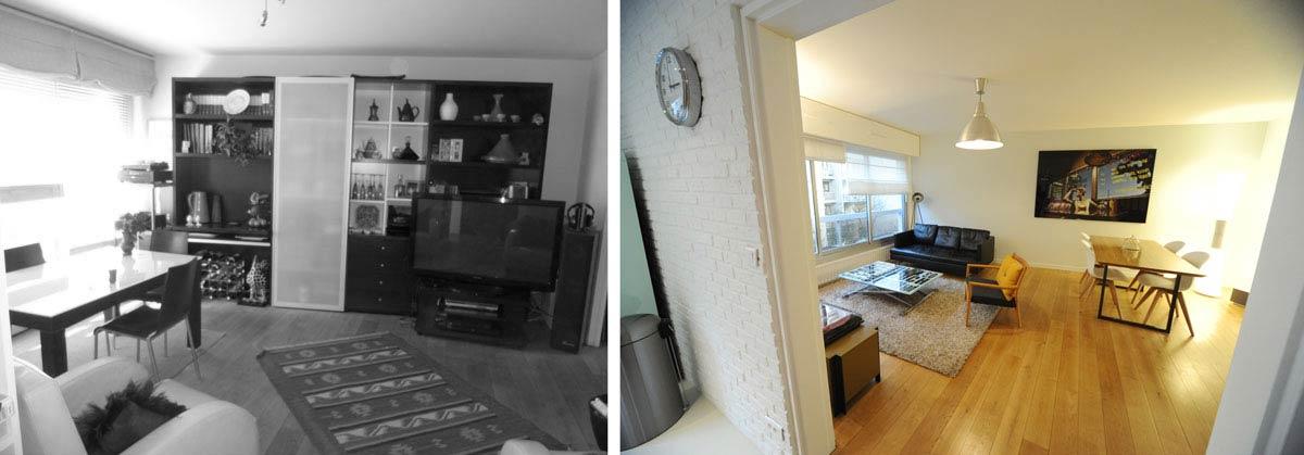 Avant apr s architecture int rieur appartement 3 for Decoration interieur appartement 2 pieces