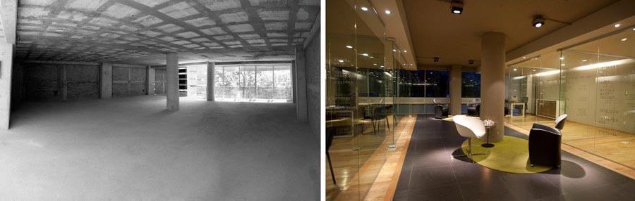 Aménagement de bureaux par un architecte d'intérieur