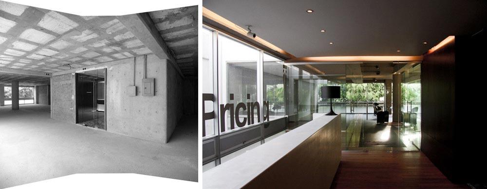 Populaire préféré Avant - Après : Aménagement des bureaux de 350m2 d'une entreprise @ZM_59