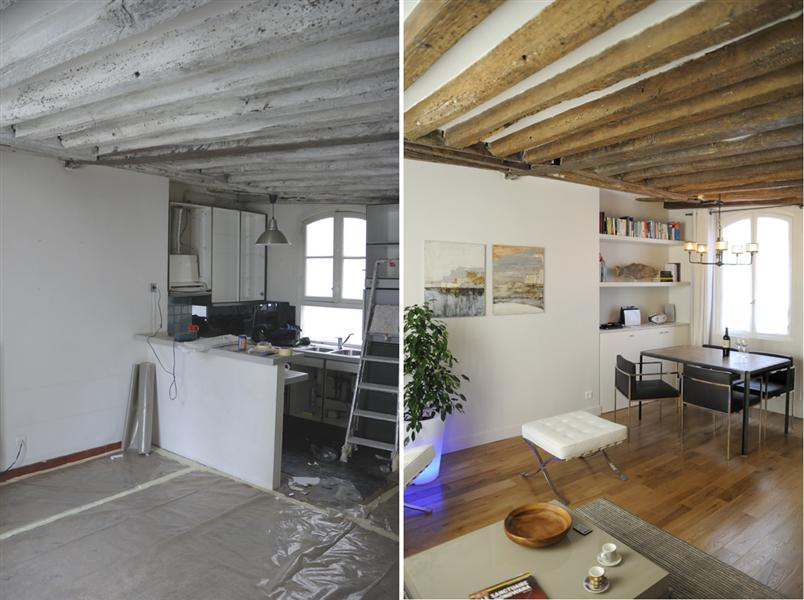 renovation appartement duplex
