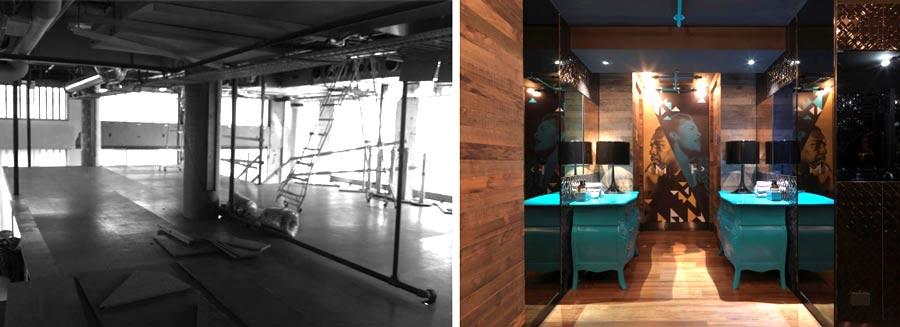 Architecture commerciale d'un restaurant rregion