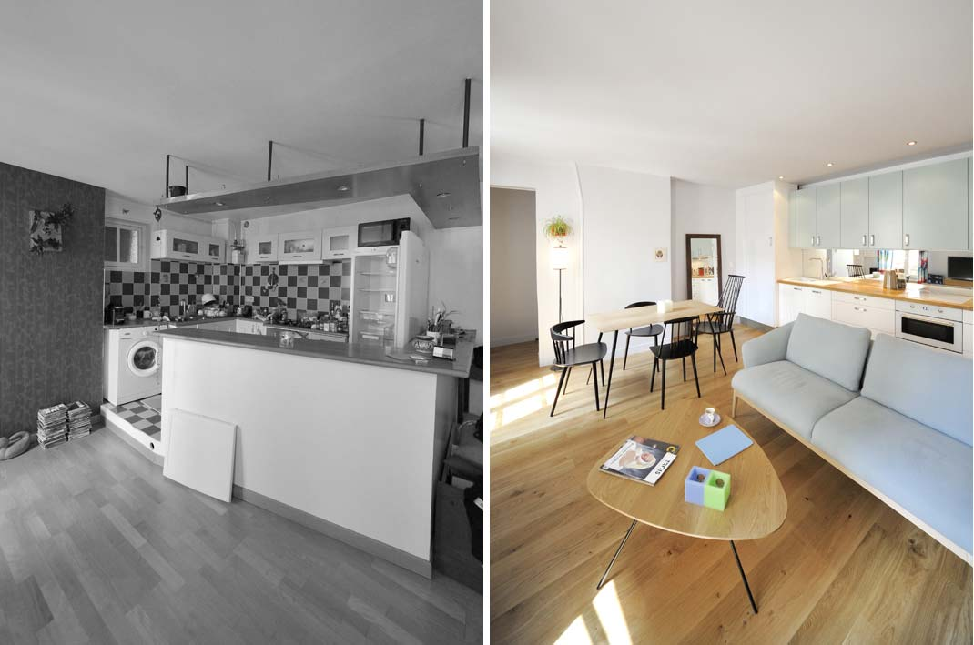 rnovation dun appartement par un architecte dintrieur