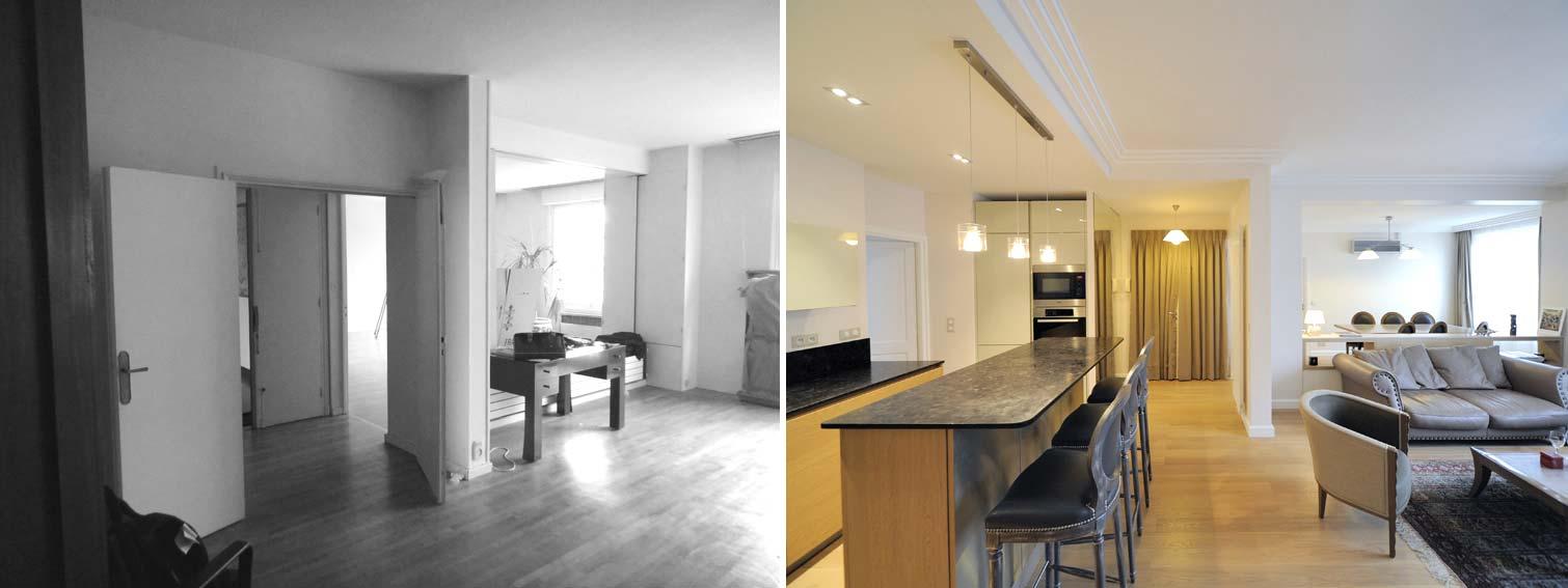 aménagement appartement 85m2