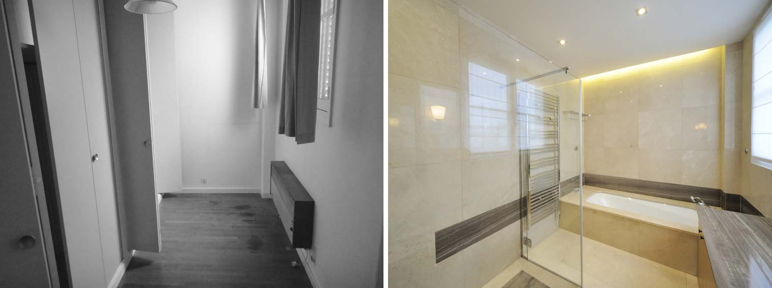 Un architecte aménage un bureau en appartement individuel rdepartement
