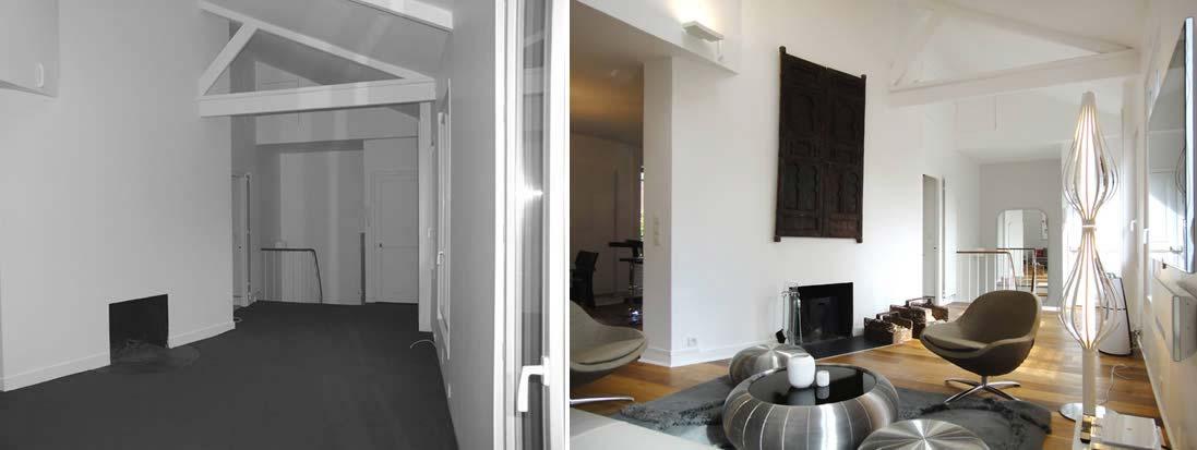 Avant - Aprés : Architecture d\'intérieur d\'une maison de ...
