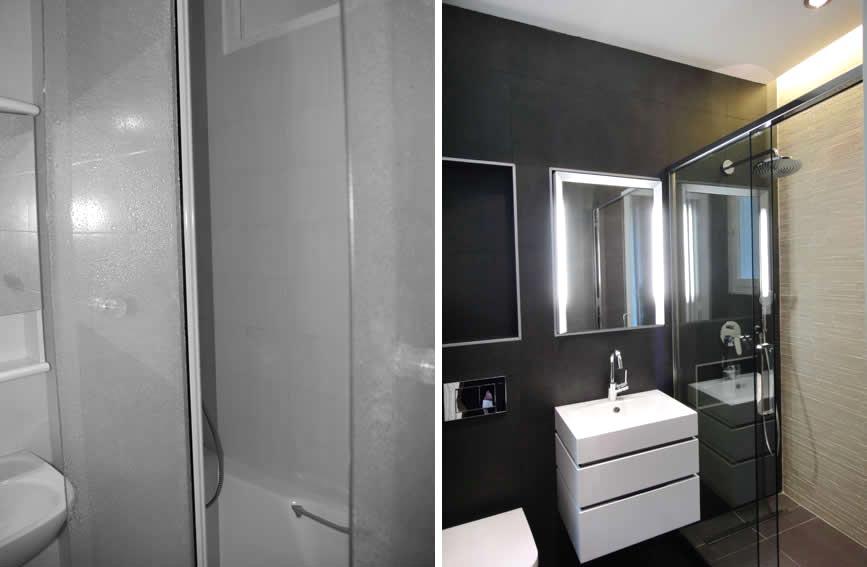 Conception d'un salle de bain dans une maison de ville 6 pièces 180m2
