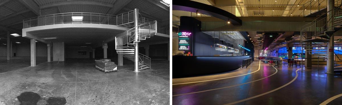 Multiplex de loisirs de 700m2 réalisé par un architecte spécialiste de l'architecture commerciale