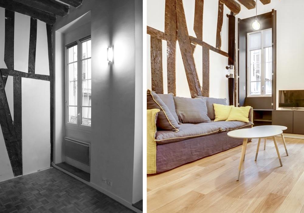 renovation appartement 25 m2