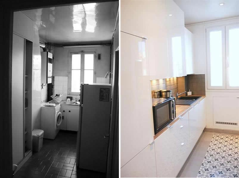 renovation appartement 90m2