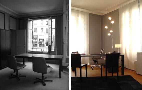 Bureau Décoration D Intérieur avant - aprés : aménagement de bureaux de 200 m2
