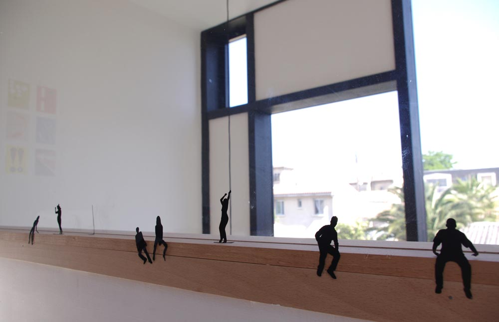 Détail de l'architecture d'une extension pour une maison de ville