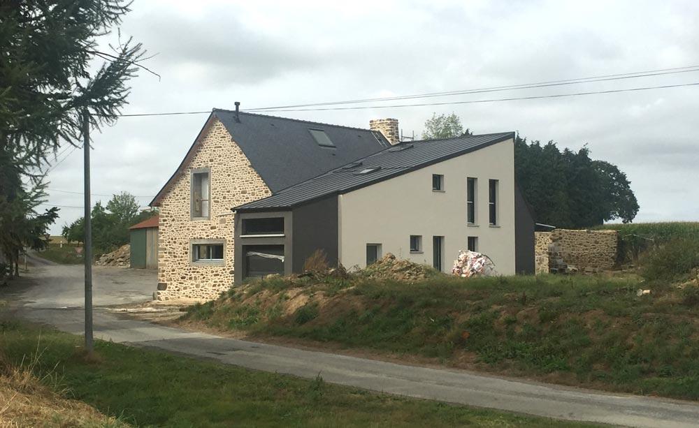 Extension à Lu0027arriére Du0027une Maison Ancienne ...