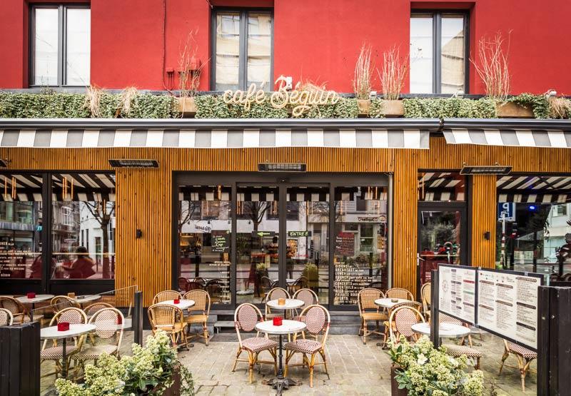 Façade d'un restaurant rénovée par un architecte [custom:ville]