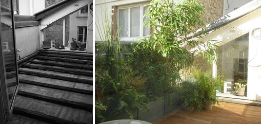 am nagement d 39 une terrasse trop zienne paris. Black Bedroom Furniture Sets. Home Design Ideas