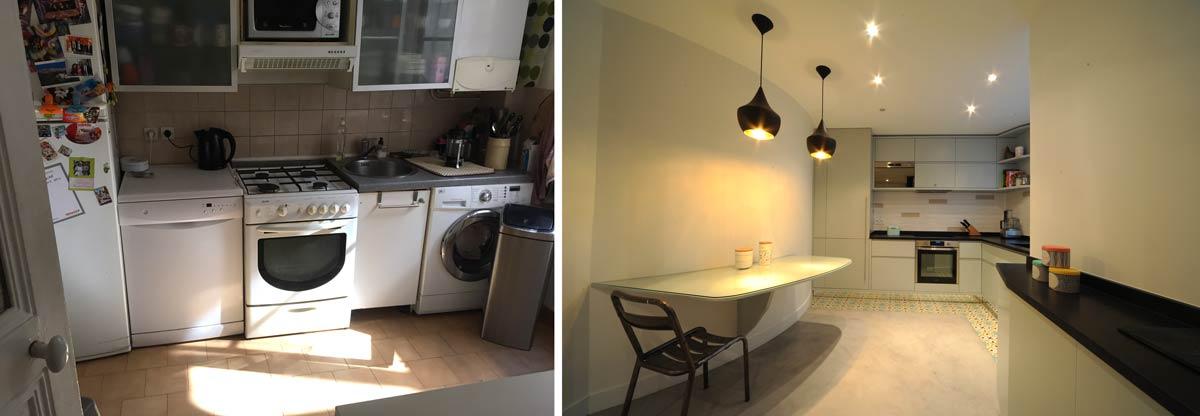 Rénovation cuisine par un architecte d'intérieur