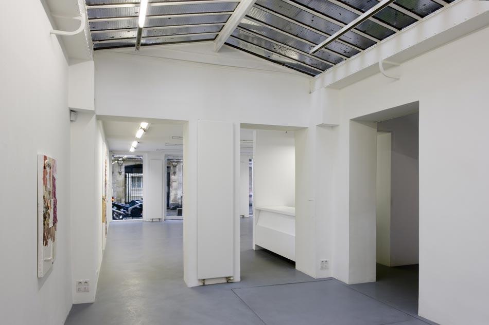 Rénovation d'un espace de formation en galerie d'art contemporain