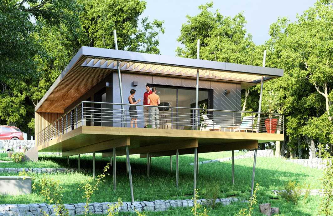 Petit Budget Pour Une Maison Ecologique Pop Up Sur Pilotis