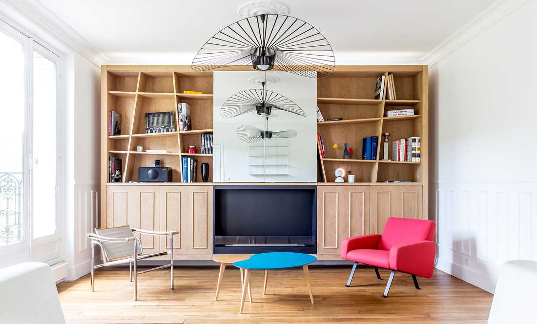 Modernize a Haussmannian apartment of 63m² in Paris