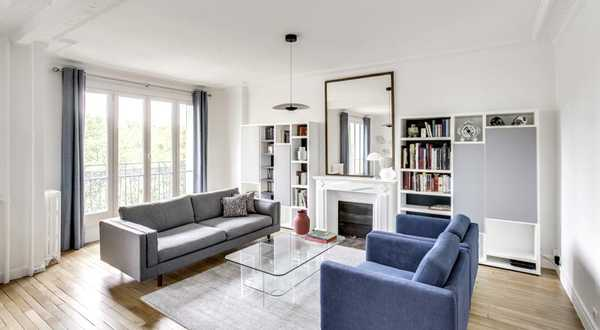 Rénovation d'un grand appartement haussmannien par un architecte d'intérieur