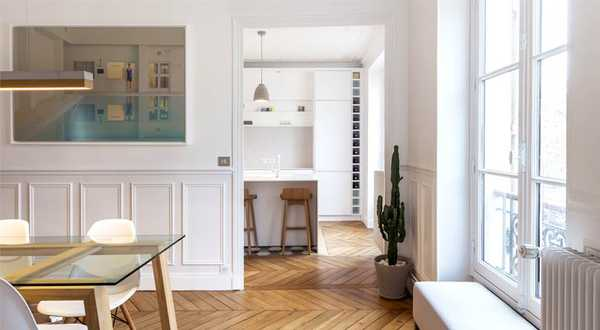 Haussmann apartment 4 rooms