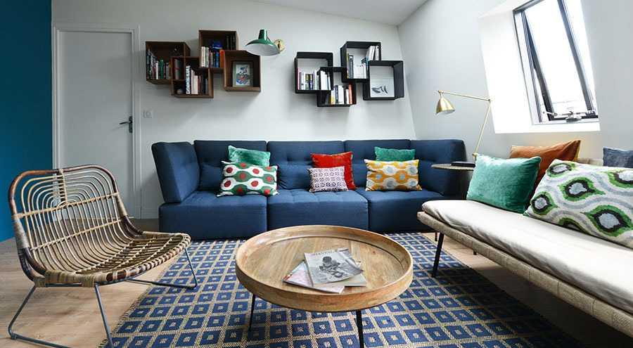 Avant Apres Decoration D Un Salon Et Sejour De 40m2 Createurs D Interieur