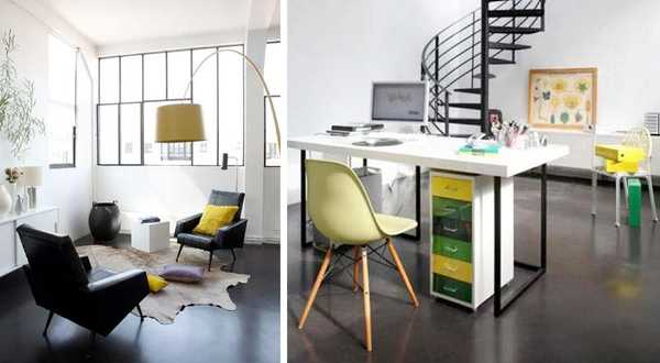 Office in a loft 50m²